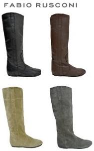 ファビオルスコーニのブーツ画像