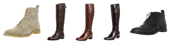 マーガレットハウエルのブーツコレクション