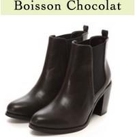 ボワソンショコラのブーツ