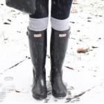 雪でも安心!お洒落なレインブーツ特集|雪道、雪の日でも安心♪